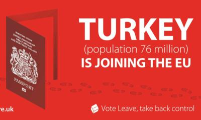 Turkey joining the EU poster